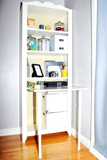 HENSVIK Bookcase Desk