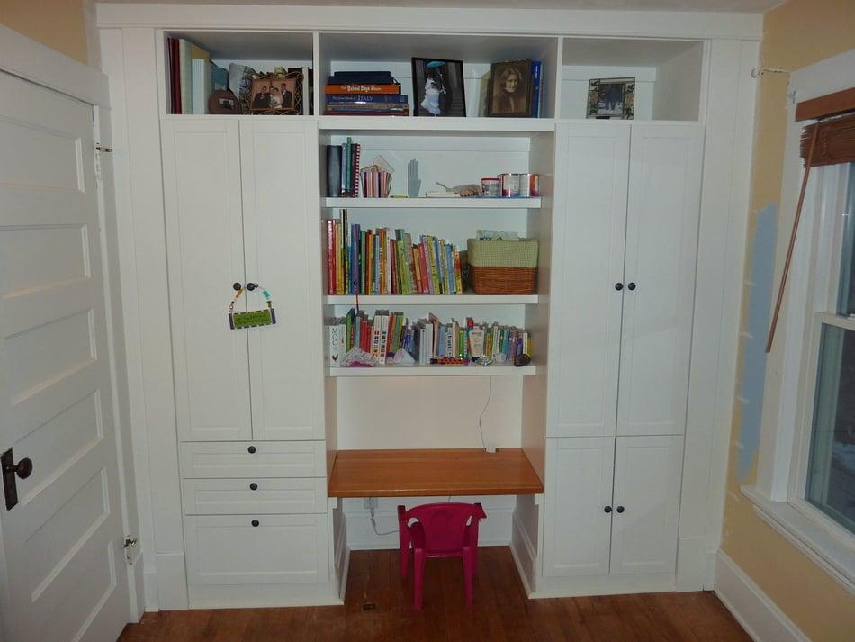 kidu0027s builtin wardrobe closet