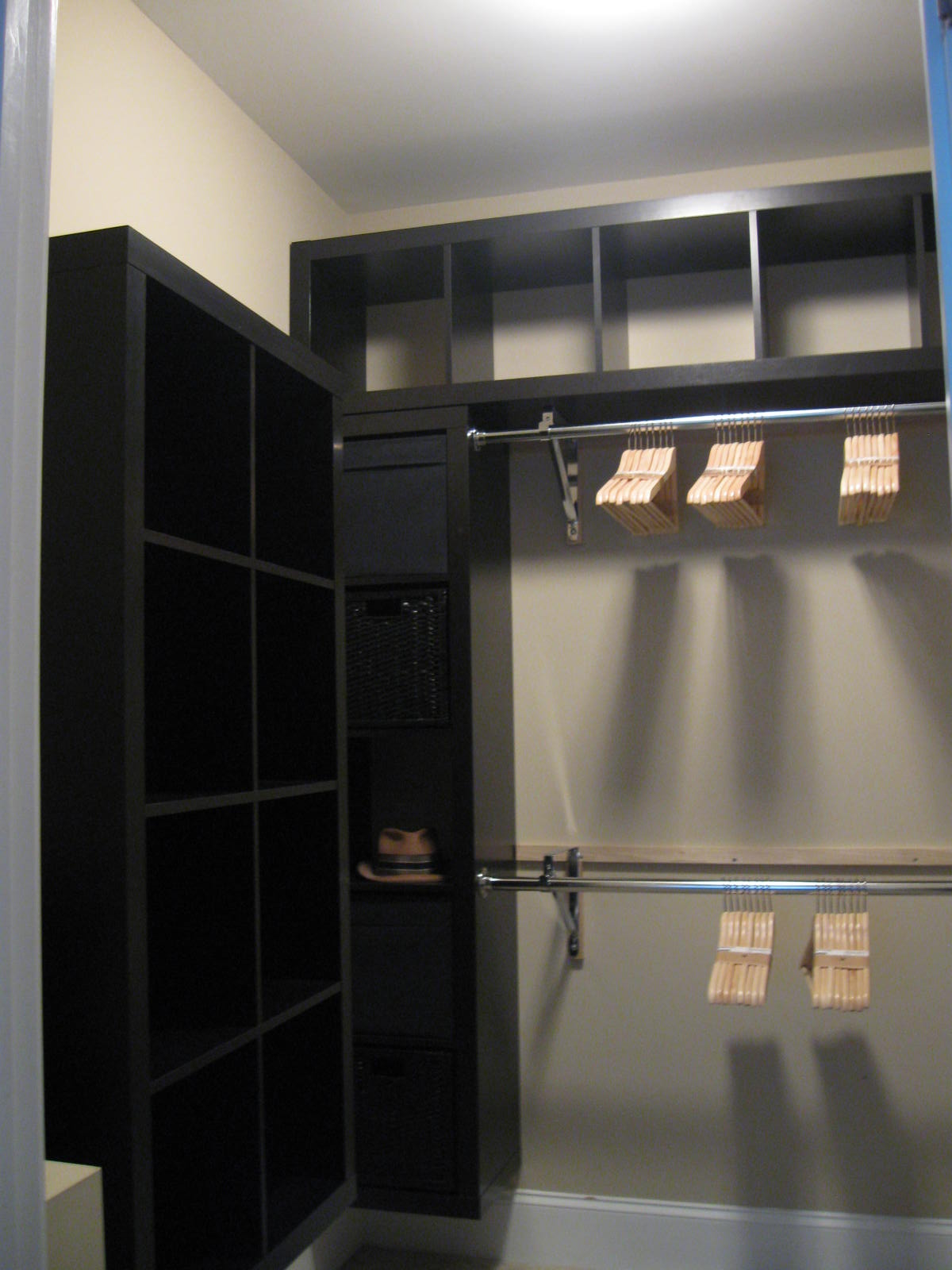 small closet organizers ikea expedit closet small walk in