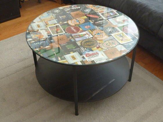 Coffee Table Coaster Frame IKEA Hackers IKEA Hackers
