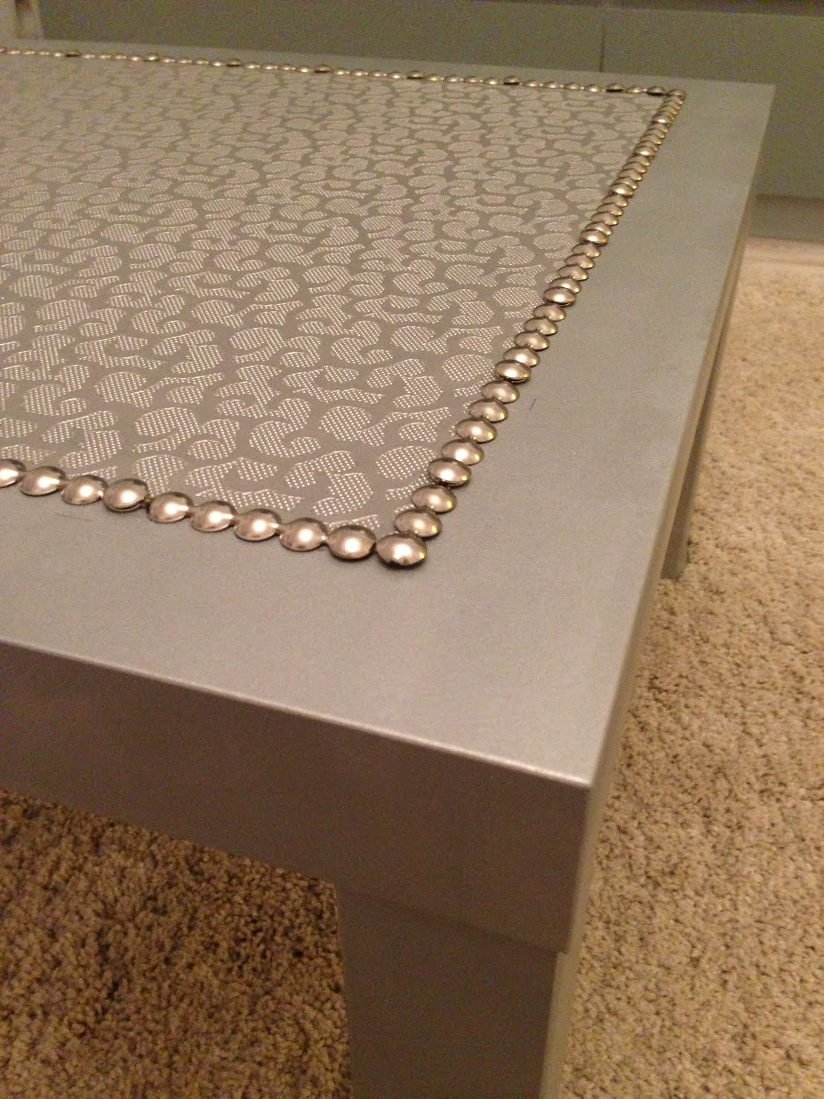 Silver coffee LACK table IKEA Hackers IKEA Hackers