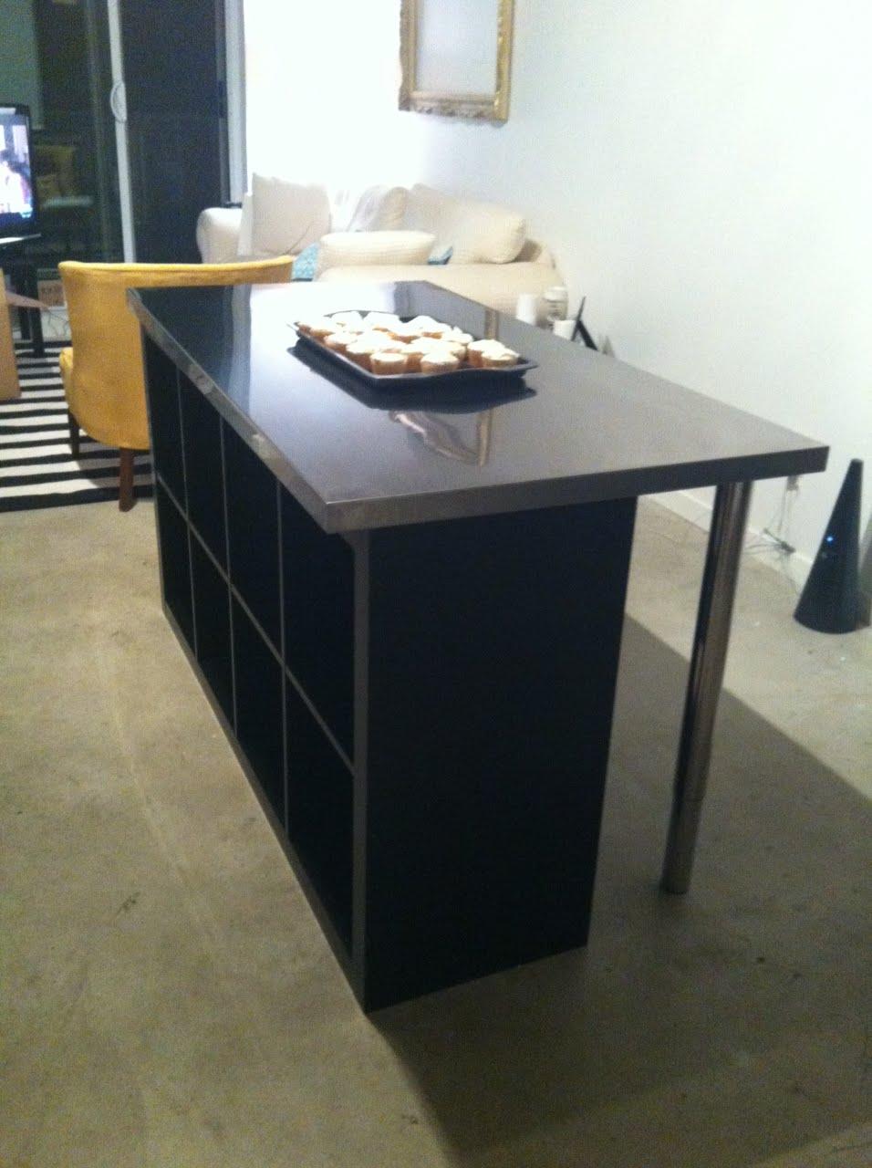 Ikea Alang Floor Lamp Nickel Plated White ~ Condo ISLAND  IKEA Hackers  IKEA Hackers