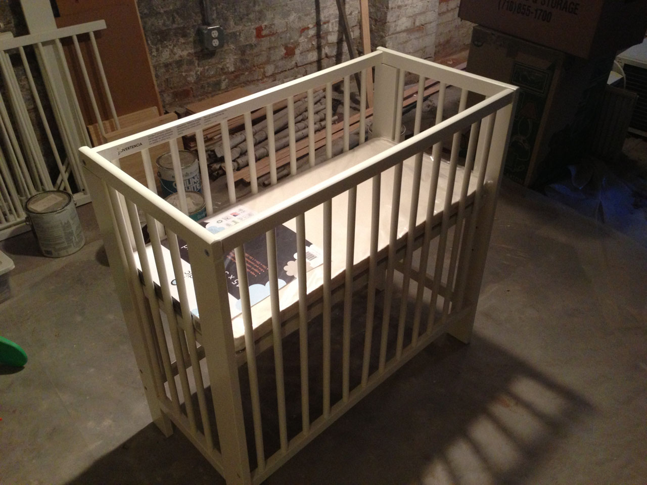Gulliver Mini Crib Ikea Hackers