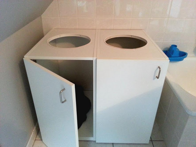 laundry sorter ikea hack