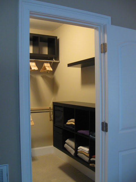 While pax is great for apartments or lofts where closets per se do not