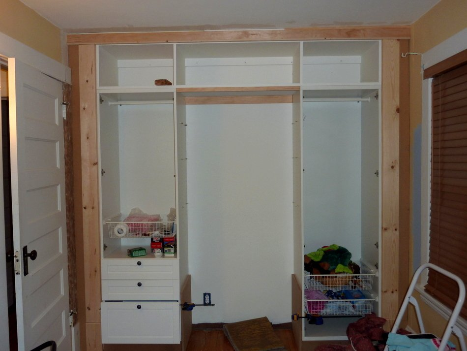 Kidu0026#39;s Built-In Wardrobe Closet - IKEA Hackers - IKEA Hackers