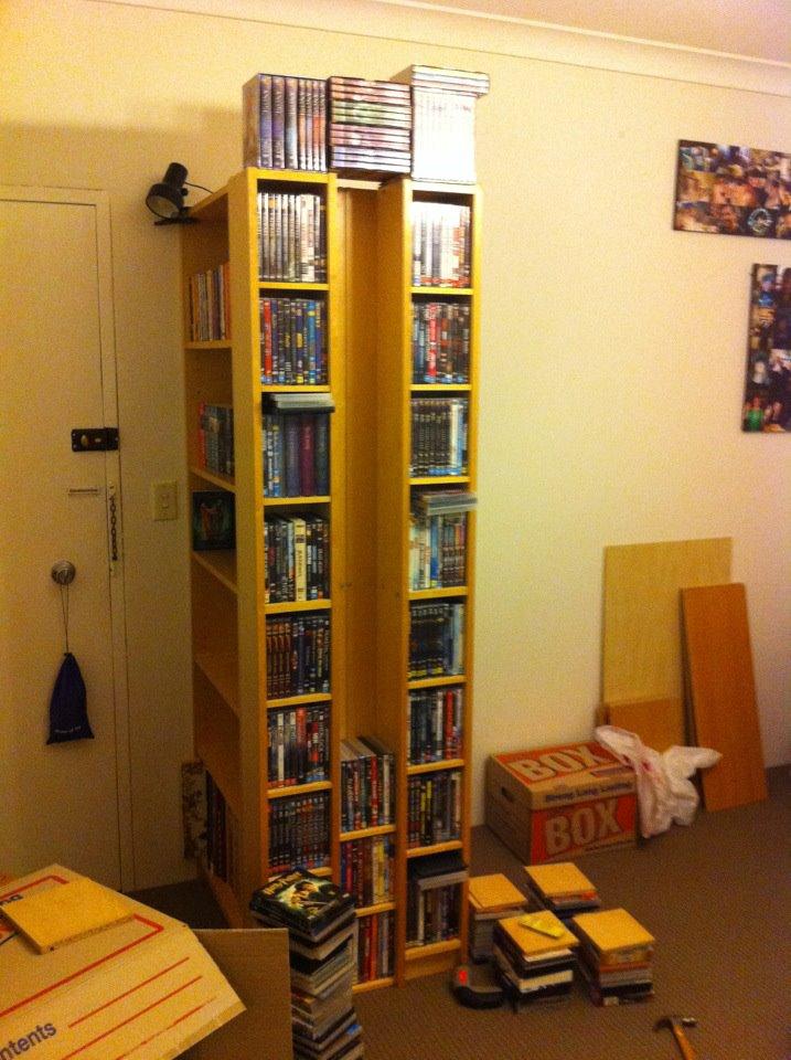 Elegant Billy Benno Bookcase U0026 DVD Block