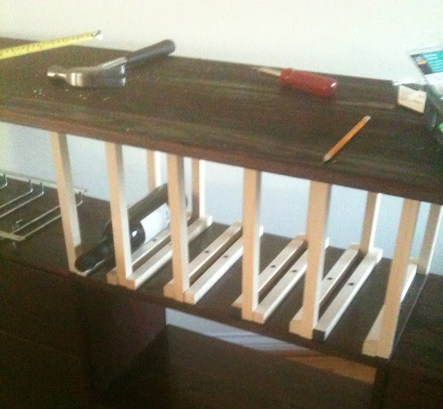 DIY IKEA Rast Wine cabinet