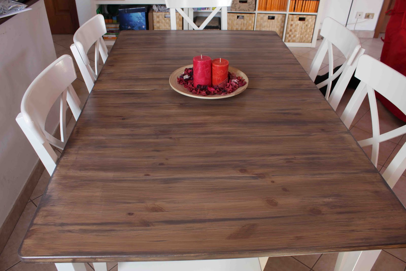 hack a country kitchen style dining table - ikea hackers - ikea