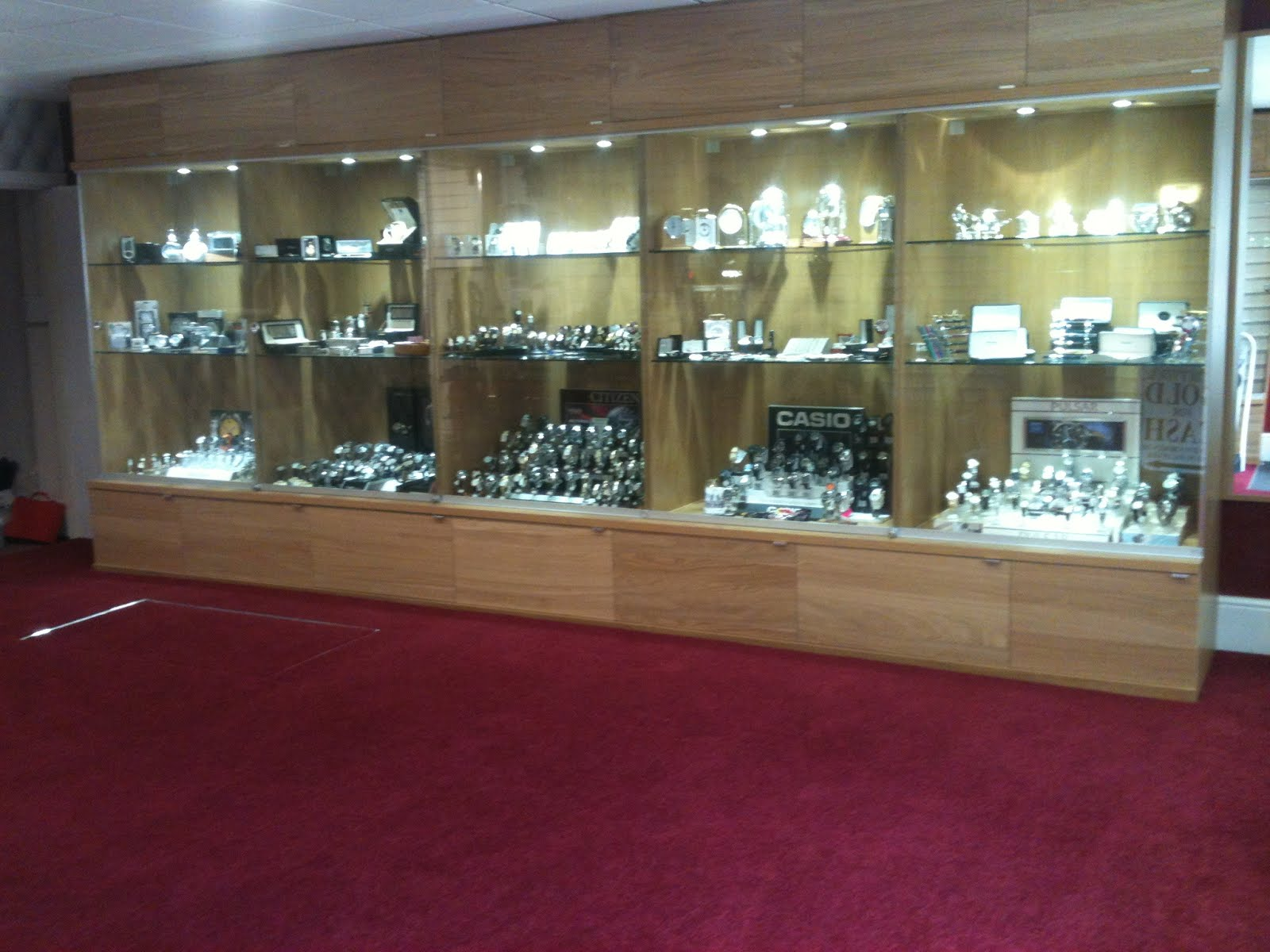 Pax wardrobe as jewellery shop display cabinets - IKEA ...
