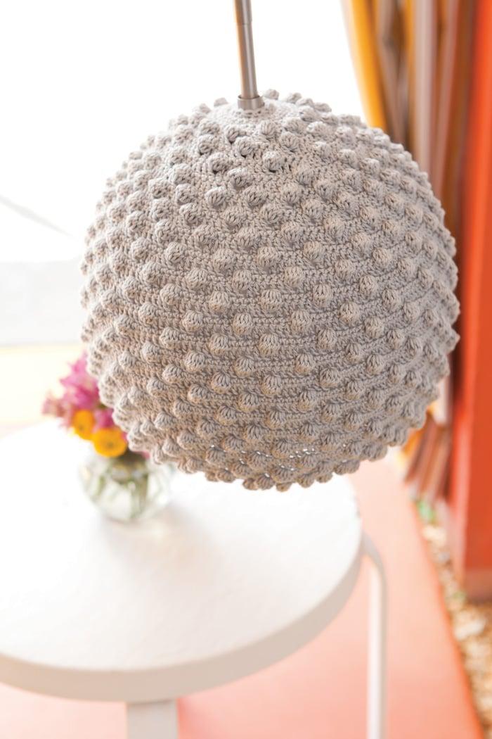 Free Pattern Crochet Lampshade : Crochet Seashell Lamps - IKEA Hackers - IKEA Hackers