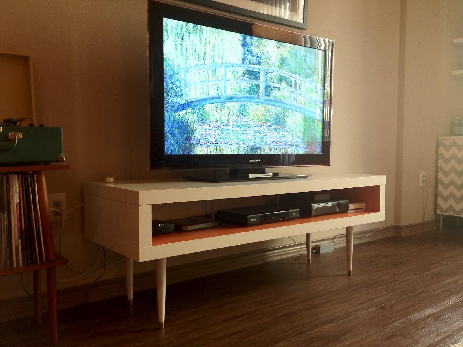 Meuble Tv Ikea Leksvik : Meuble Tv Expedit Ikea Mid Century Lack Tv Hack Ikea Hackers Ikea