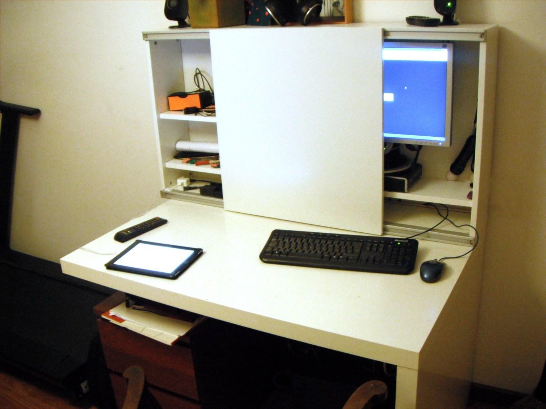 Besta Expedit Computer Desk Ikea Hackers Ikea Hackers