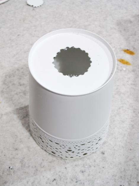 Ikea skurar plant pots as lamp shades ikea hackers mozeypictures Gallery