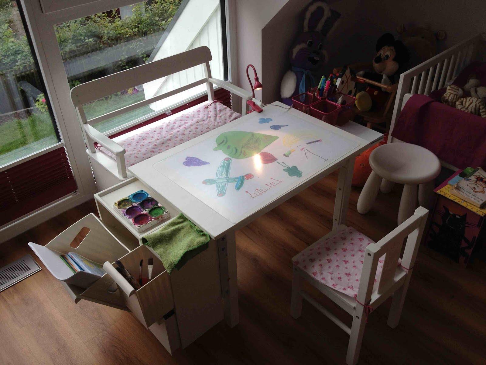 Art Desk For Kids Ikea Hackers