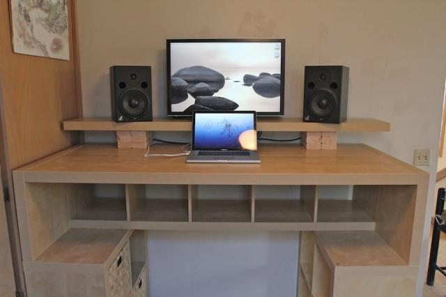 elevated desk plans