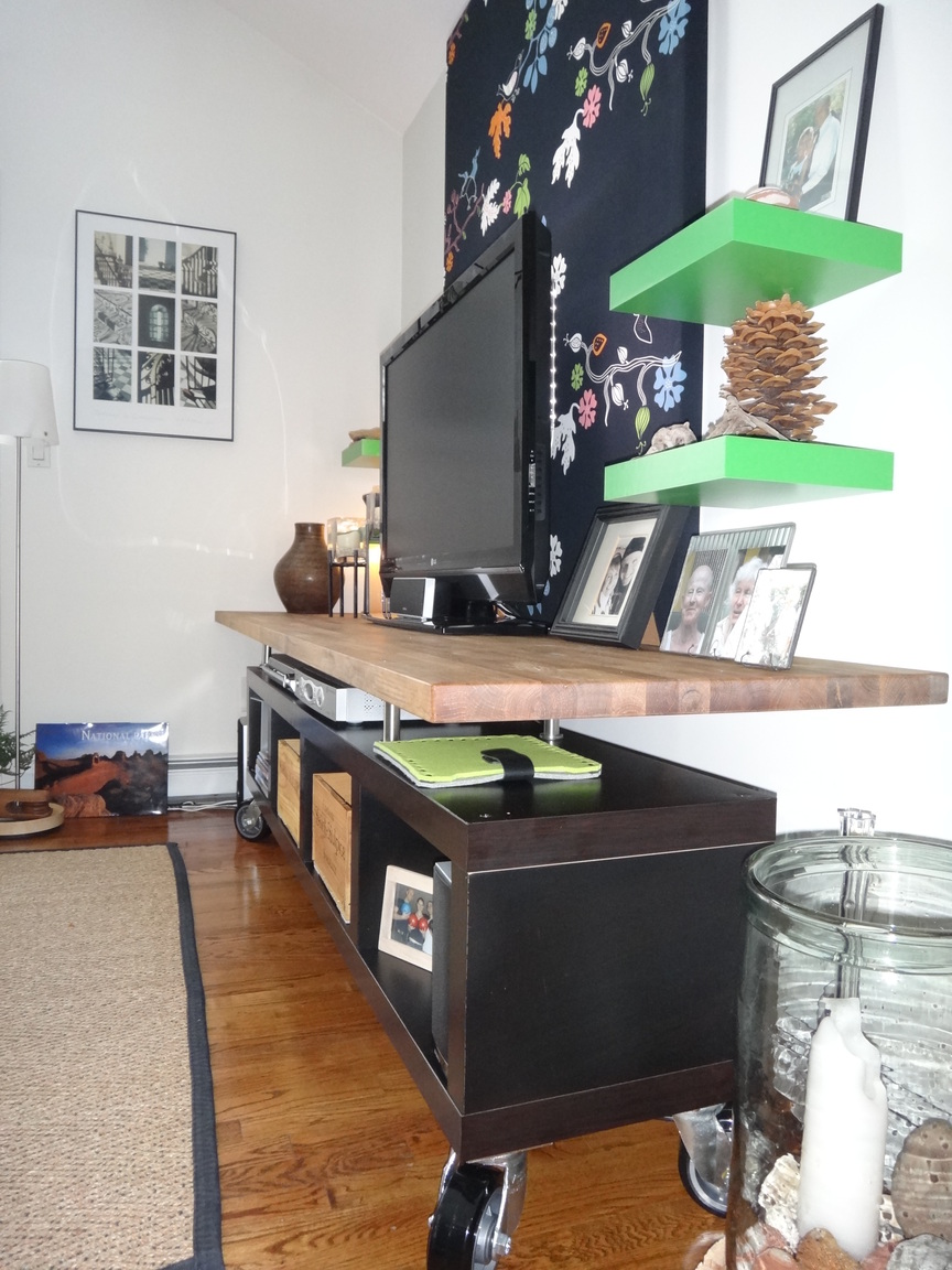 Lack Kitchen Counter Top Modern Tv Stand Entertainment Center