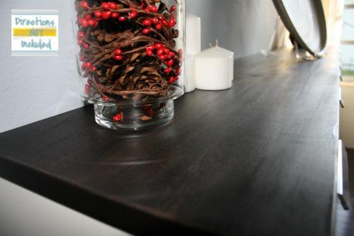Custom bar from IKEA kitchen cabinets