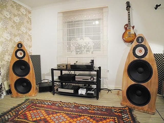 DIY Open Baffle loudspeakers