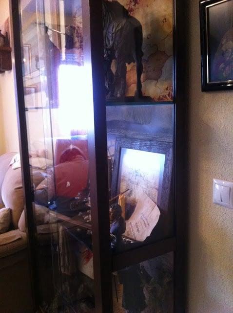 Hemnes display cabinet