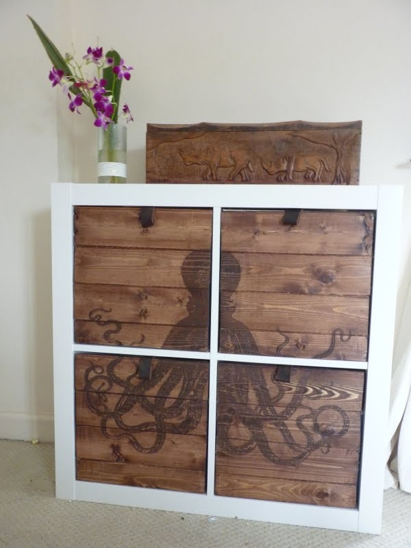 Etched Octodraws For Expedit IKEA Hackers