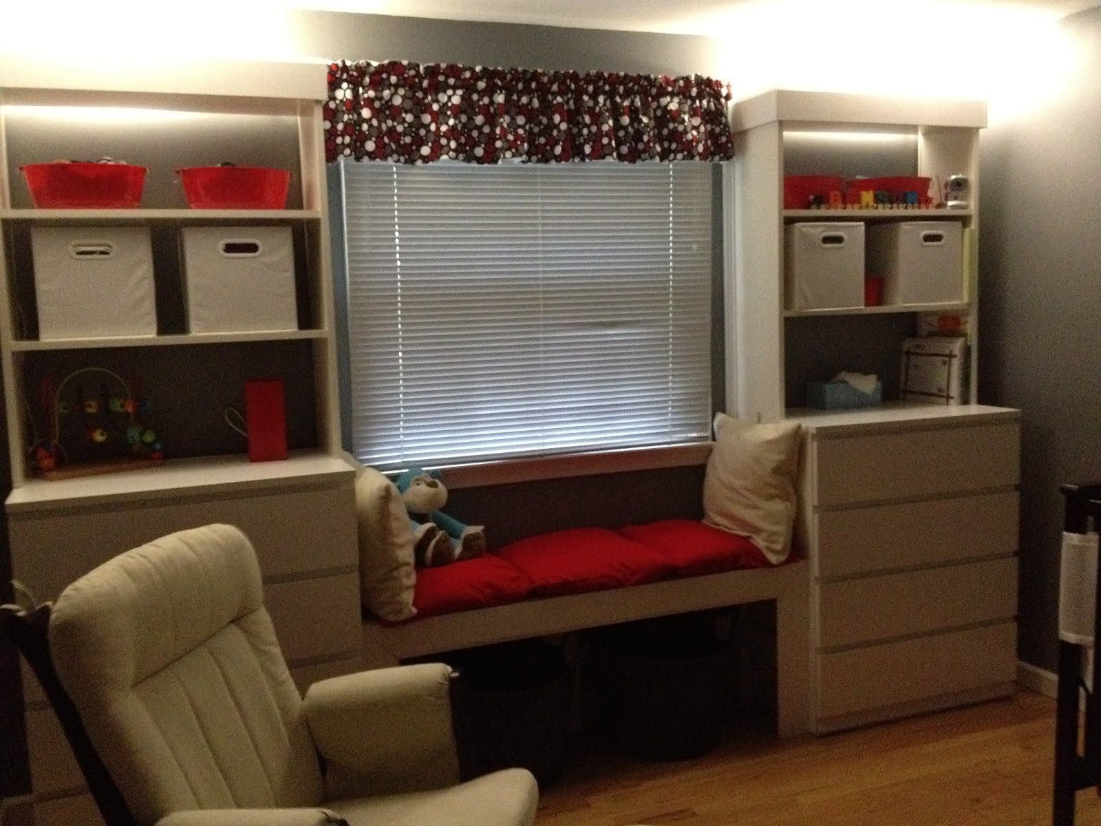 Mock Built Ins With Malm And Billy