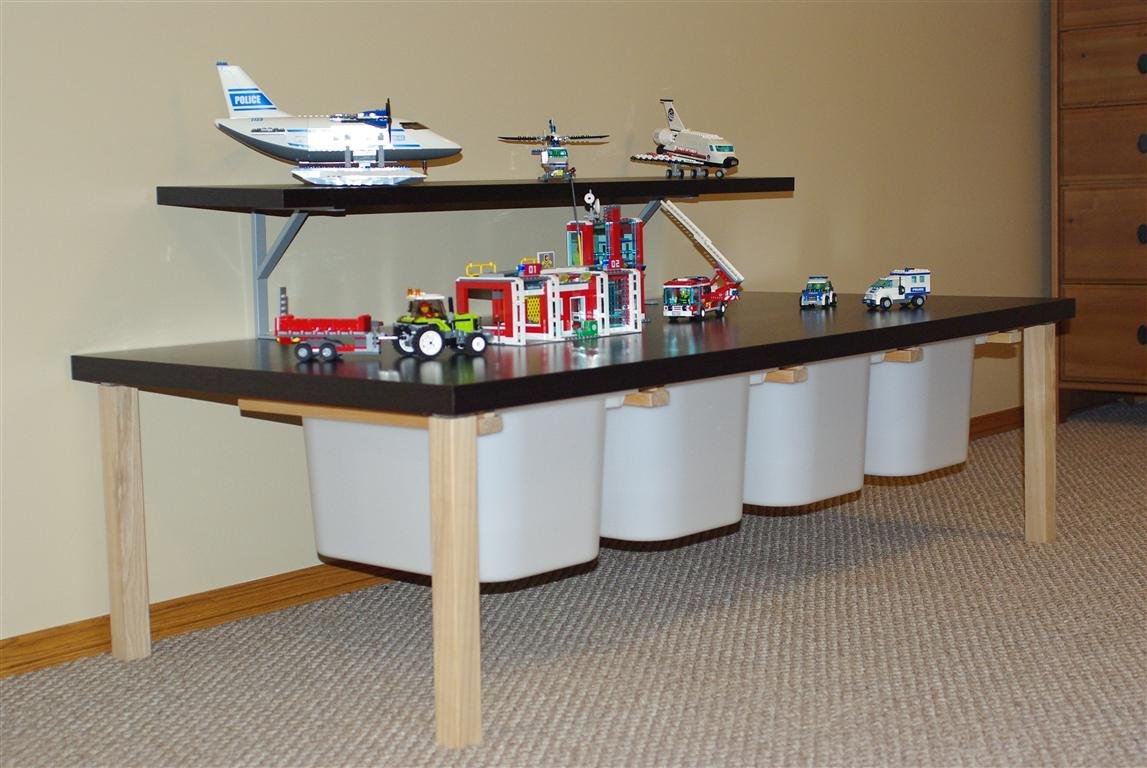 Lego Activity Table Ikea Hackers