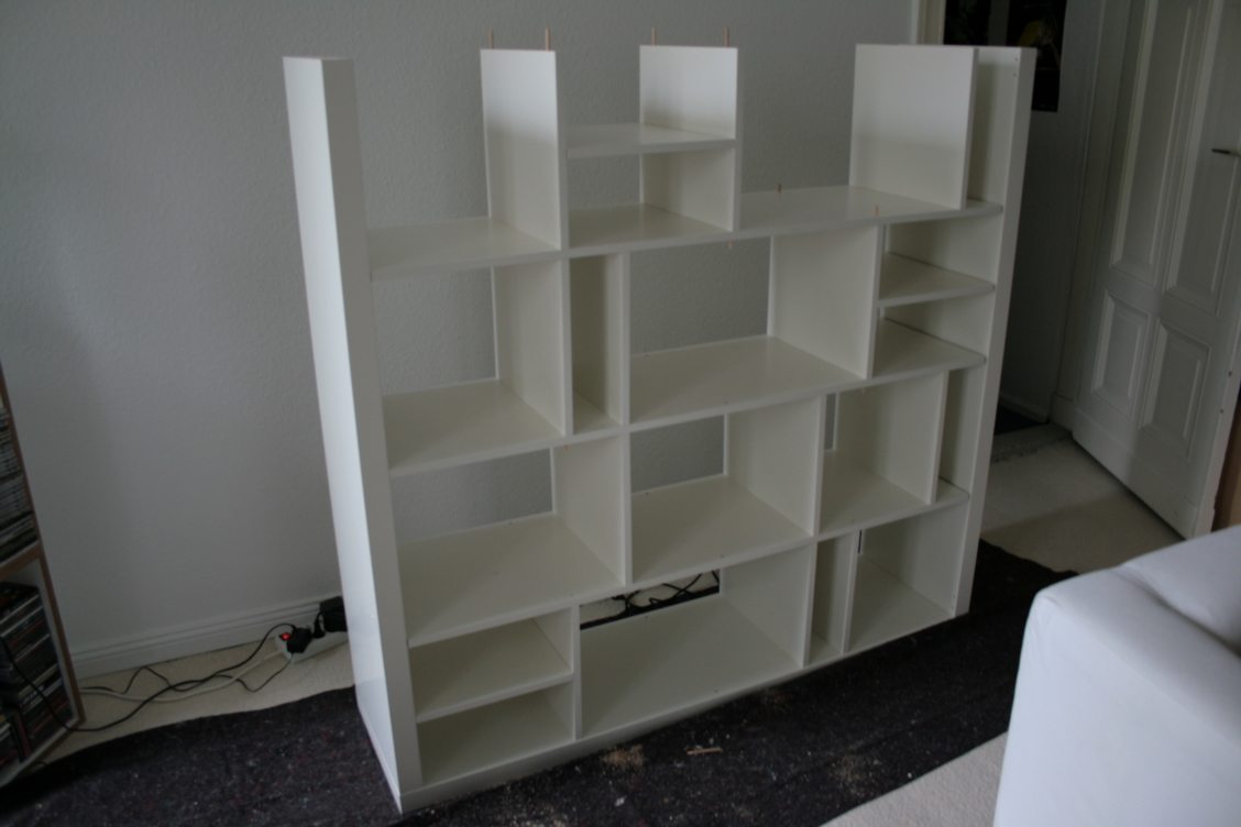 2x2 + 2x4 + 4x4 = my re-structured expedit - ikea hackers