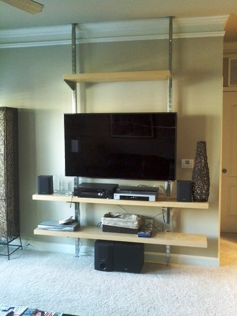 wall mount entertainment unit