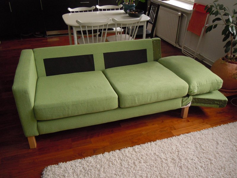 Tremendous Karlstad Sofa Becomes A Karlstad Sofa Bed Ikea Hackers Cjindustries Chair Design For Home Cjindustriesco