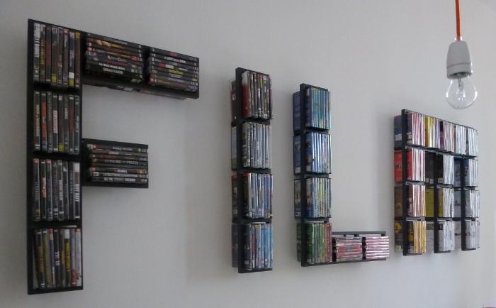 Dvd shelves ikea