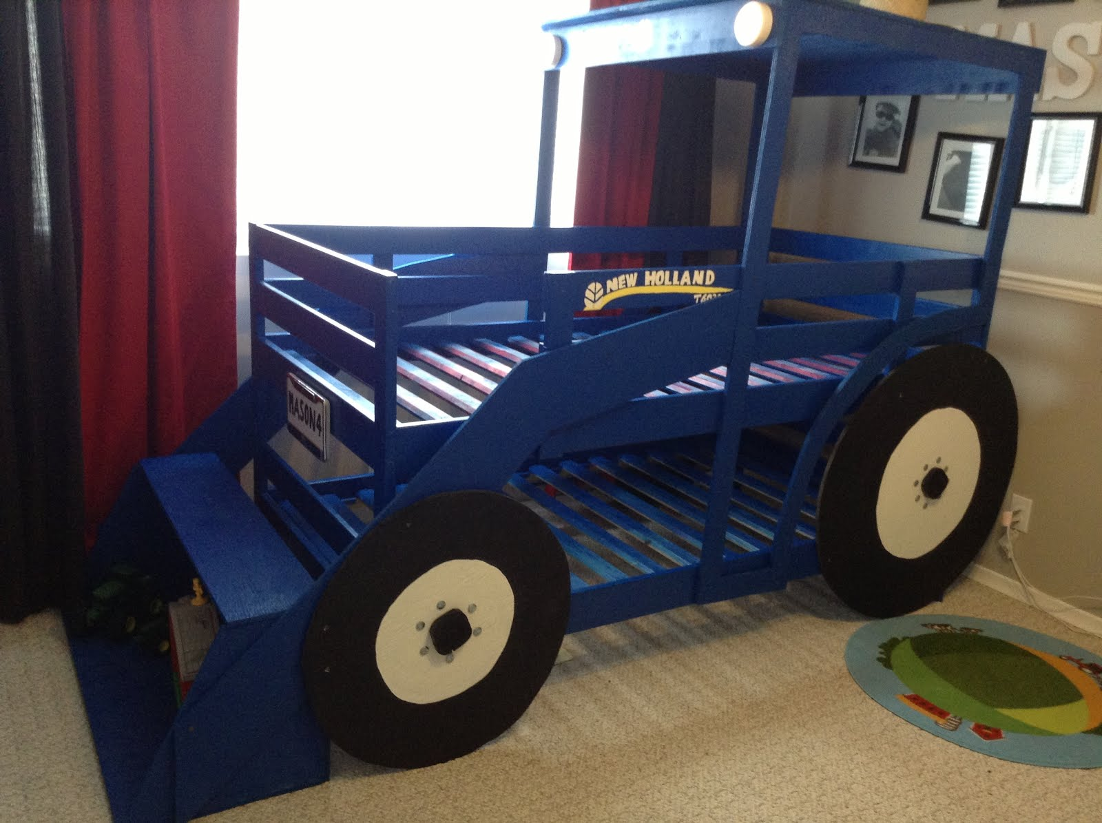Pics Photos - Tractor Toddler Bed