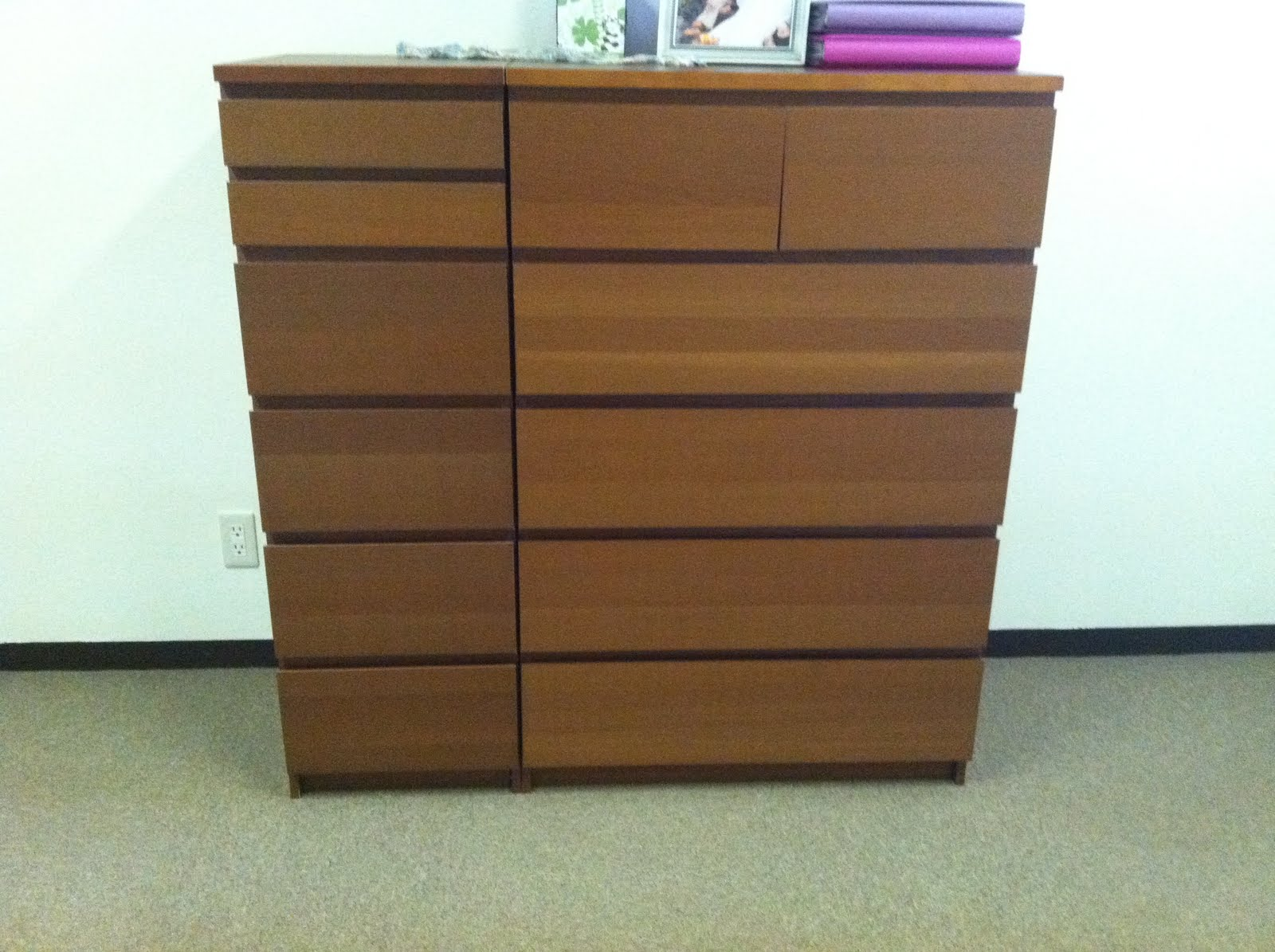 Malm Dresser Transformation Ikea Hackers