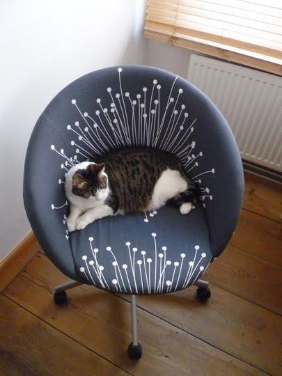 IKEA Skruvsta reupholstered