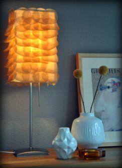 Baking paper Lampshade