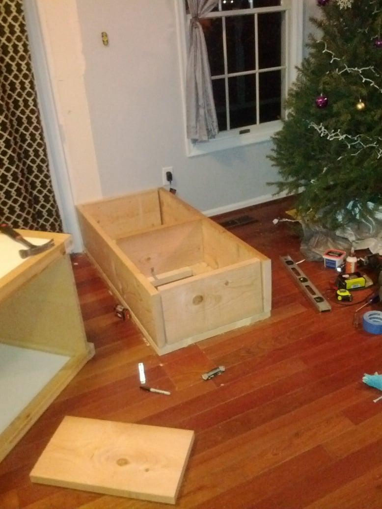 Varde sink cabinet becomes breakfast bar - IKEA Hackers - IKEA Hackers