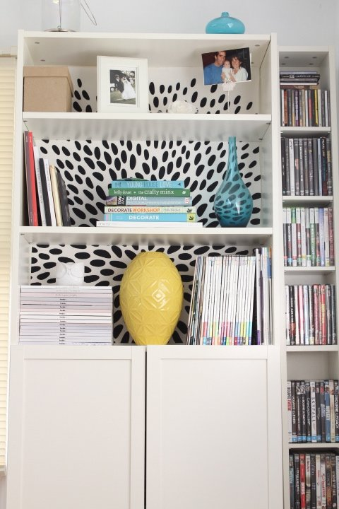 Brightening Up A Boring Billy Bookcase