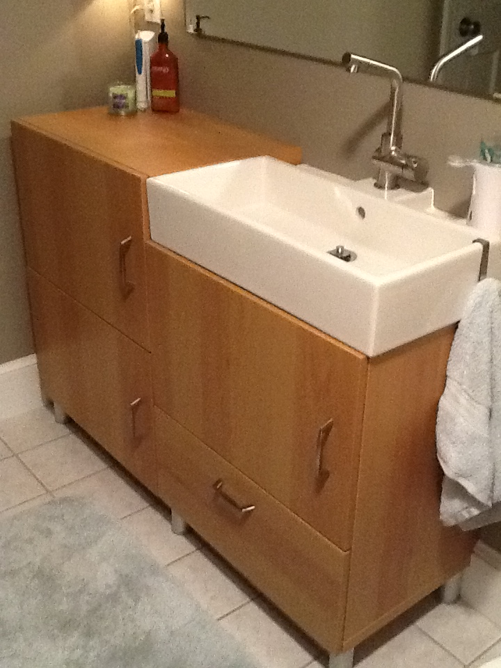 Small Room Bath Vanity Sink 16 Inches