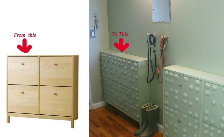 Shoe cabinet transformation - IKEA Hackers - IKEA Hackers