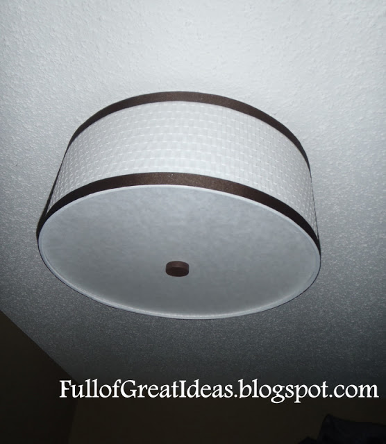 Ikea Numerar Island Countertop ~   to hack an Ikea light to look exactly like some $300 ceiling lights