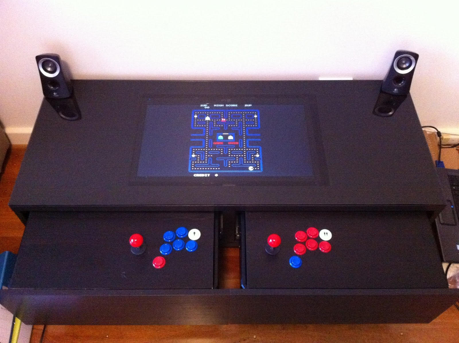coffee table arcade cabinet plans