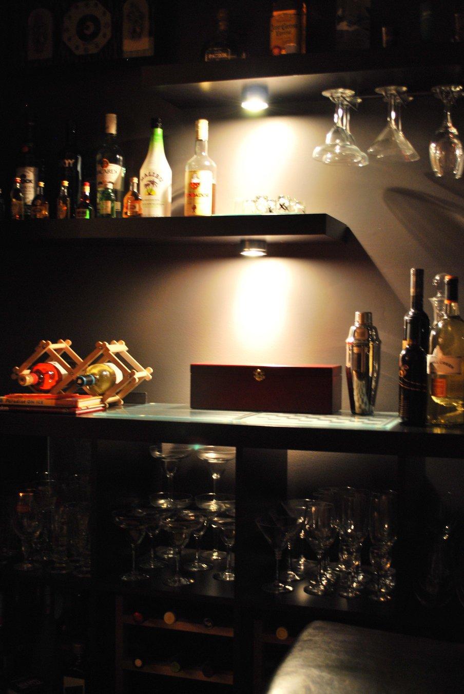 Closet Isn T Lacking Anything As A Bar
