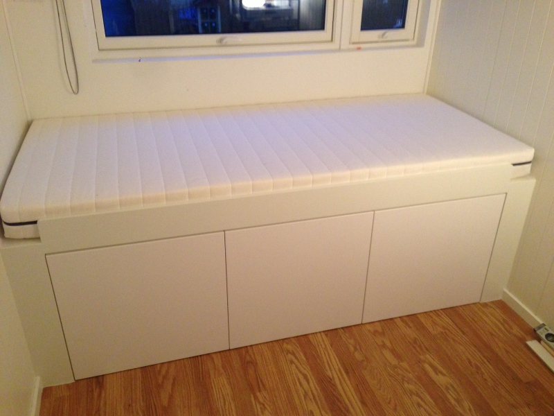 Appld Storage Bed IKEA Hackers