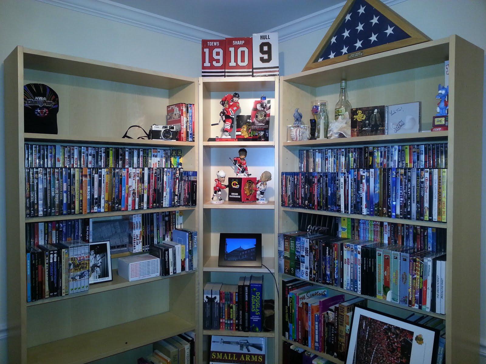 Ikea Billy Bookcase Billy Bookshelf Dvd Shelves Ikea Hackers Ikea Hackers