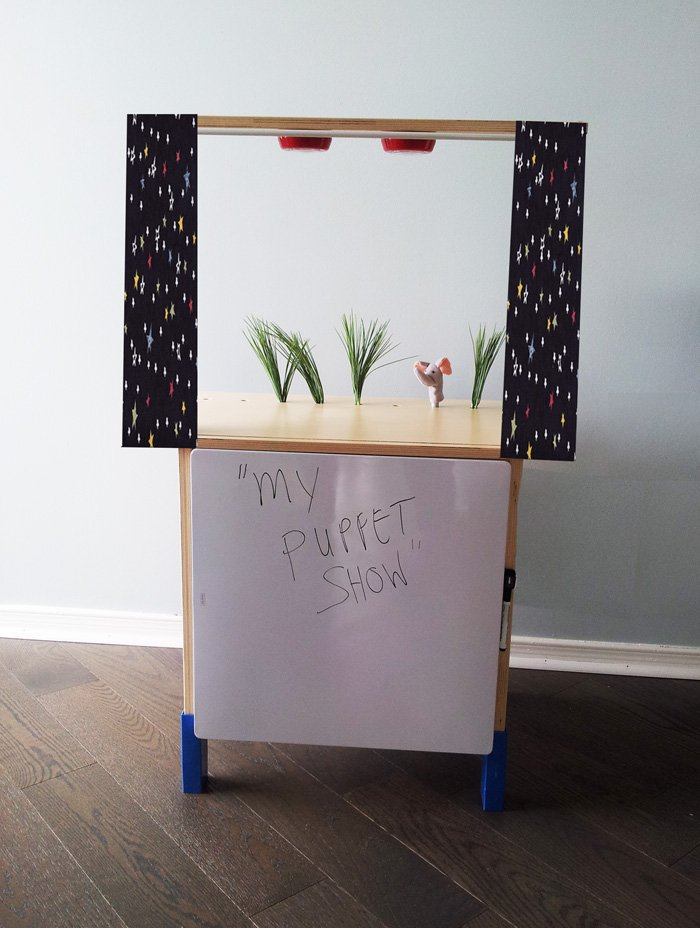 Little Kids Puppet Theater - IKEA Hackers