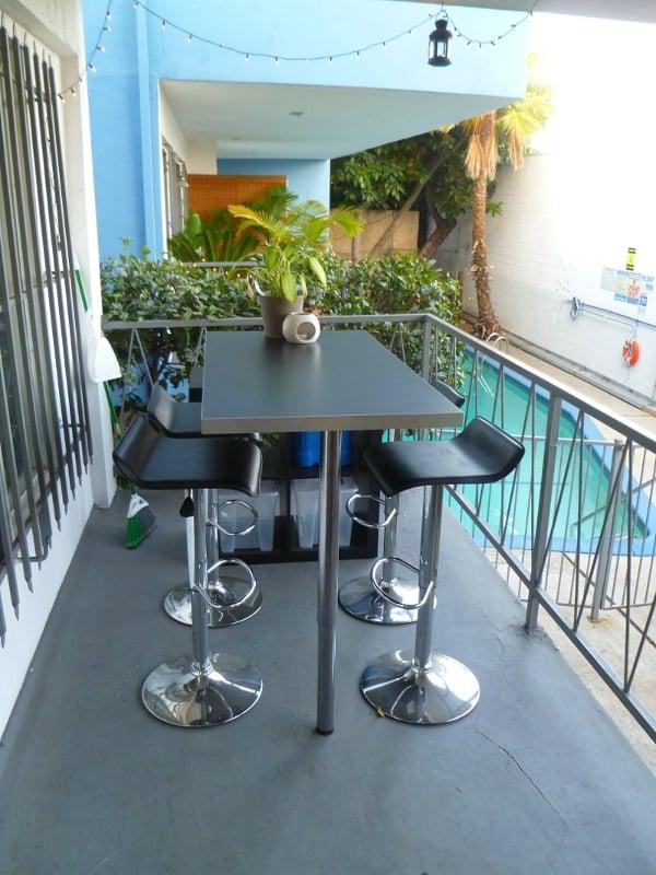 Custom ikea bar with storage and prep area ikea hackers ikea hackers - Customiser table ikea ...