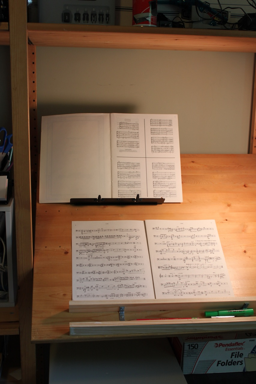 Ivar Stand-up Music Cueing Desk / Drafting Table - IKEA