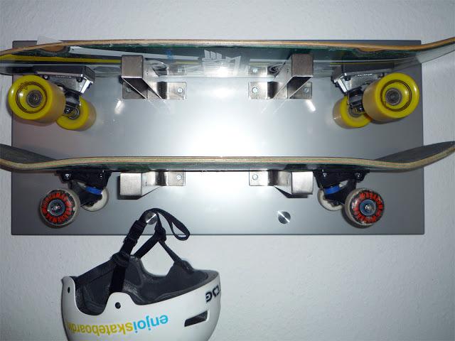 skateboard storage