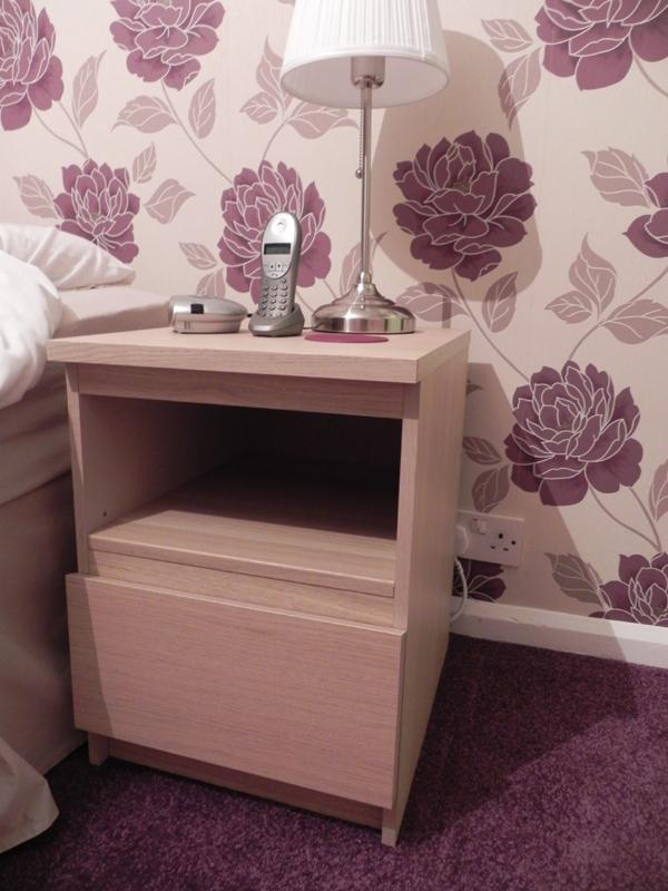 Malm Nightstand Shelf Conversion: Two becomes One - IKEA ...
