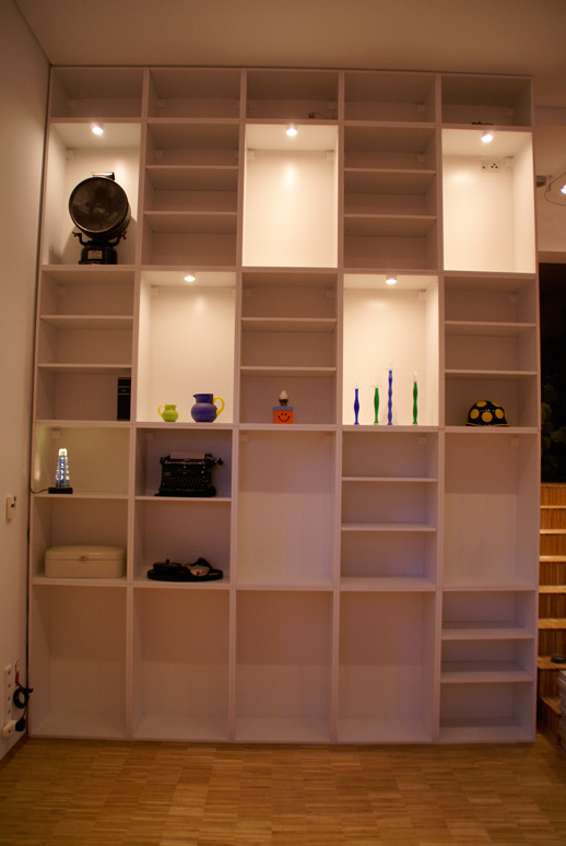 Living Room Rationell/Akurum bookshelves